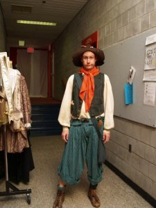 as the Clown in The Winter's Tale, 2007 (Pennsylvania Shakespeare Festival)