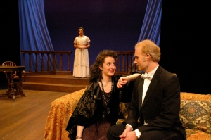 As Mazzini in Heartbreak House, 2005 (Hartshorn Theatre)