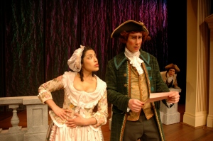 as Lucius O'Trigger in the Rivals, 2006 (Hartshorn Theatre)