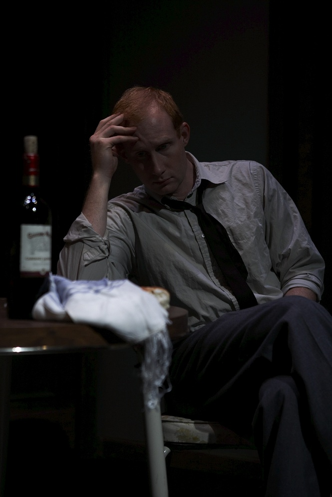 "As Jake in ""Refuge of Lies"", 2008 (Theatre Row)"