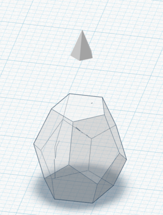 Tinkercad dodecahedron
